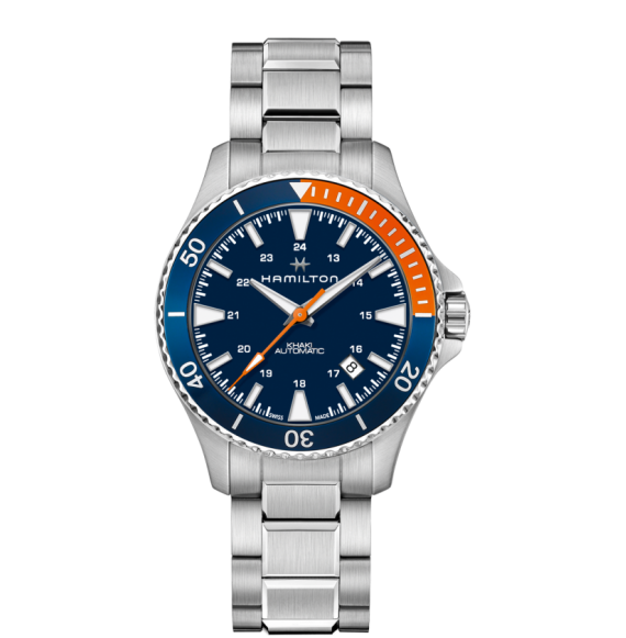 Reloj Hamilton Khaki Navy Scuba H82365141 Automático de acero para hombre
