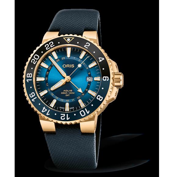 Reloj Oris Aquis Carysfort  Reef Gold Limited Edition 01 798 7754 6185-Set automático para hombre