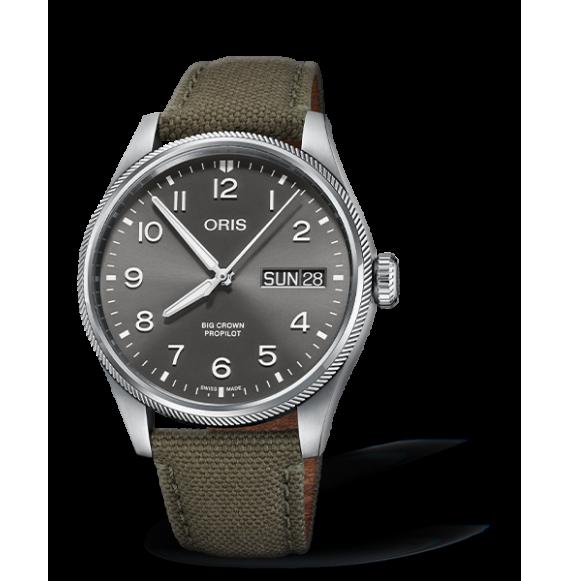 Reloj Oris Big Crown ProPilot Big Day Date 01 752 7760 4063-07 3 22 02LC automático para hombre