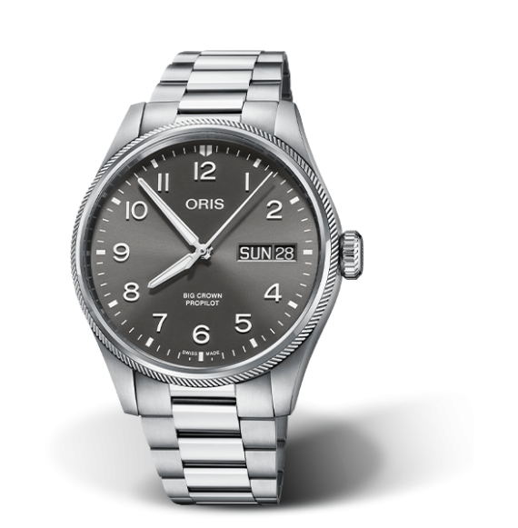 Reloj Oris Big Crown ProPilot Big Day Date 01 752 7760 4063-07 8 22 08P automático para hombre