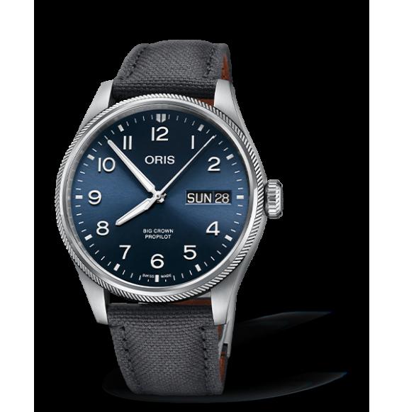 Reloj Oris Big Crown ProPilot Big Day Date 01 752 7760 4065-07 3 22 05LC automático para hombre