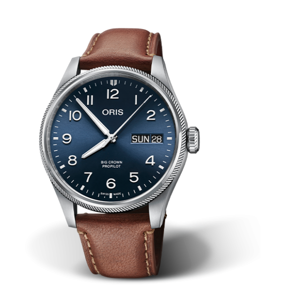 Reloj Oris Big Crown ProPilot Big Day Date 01 752 7760 4065-07 5 22 07LC automático para hombre
