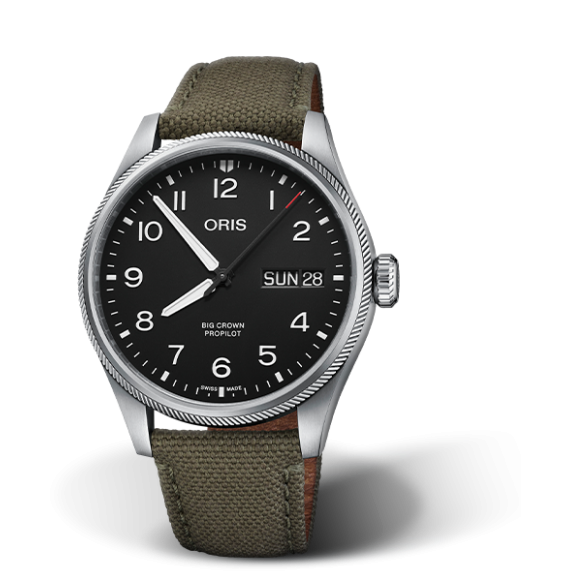 Reloj Oris Big Crown ProPilot Big Day Date 01 752 7760 4164-07 3 22 02LC automático para hombre
