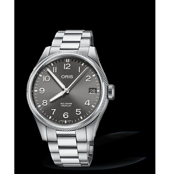 Reloj Oris Big Crown ProPilot Big Date 01 751 7761 4063-07 8 20 08P automático de acero para hombre