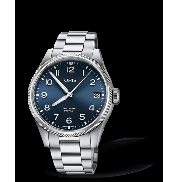 Reloj Oris Big Crown ProPilot Big Date 01 751 7761 4065-07 8 20 08P automático de acero para hombre