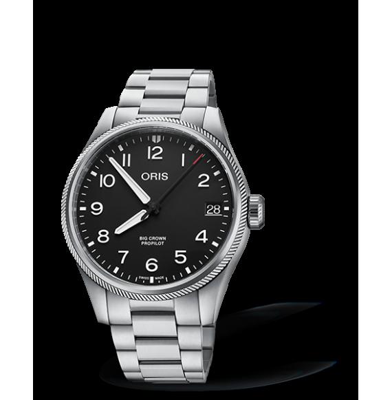 Reloj Oris Big Crown ProPilot Big Date 01 751 7761 4164-07 8 20 08 automático de acero para hombre
