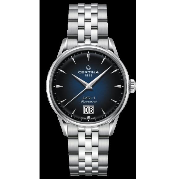 Reloj Certina Urban DS-1 Big Date C029.426.11.041.00 Powermatic 80 de acero para hombre