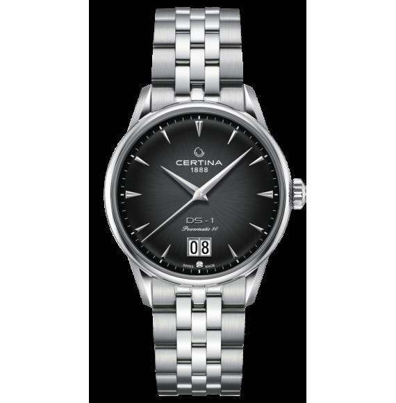 Reloj Certina Urban DS-1 Big Date Powematic 80 C029.426.11.051.00 de acero para hombre
