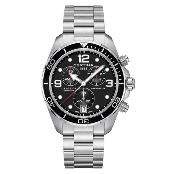 Reloj Certina Aqua DS Action C032.434.11.057.00 Cronograph Cuarzo de acero para hombre