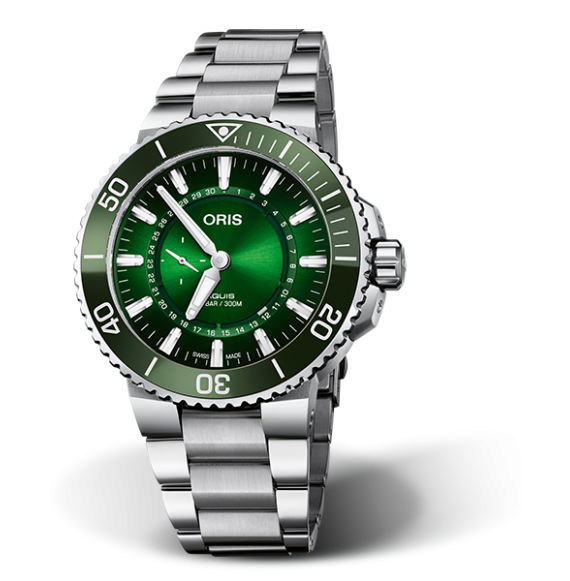Reloj Oris Aquis Hangang Limited Edition 01 743 7734 4187-Set automático de acero para hombre