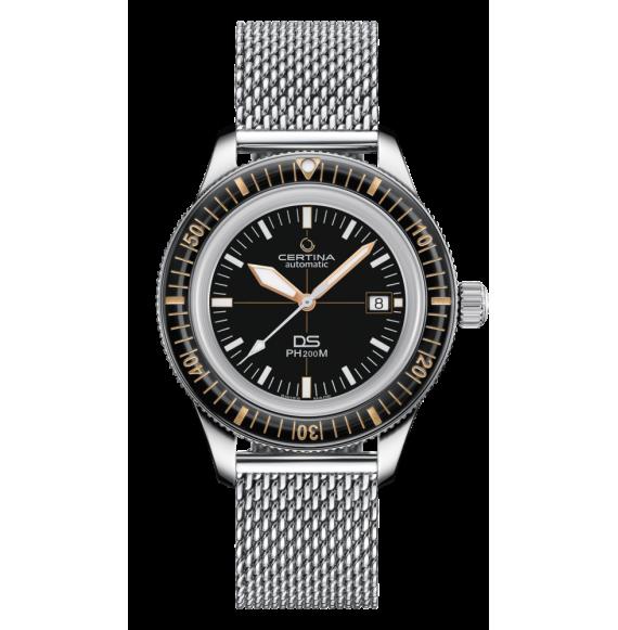 Reloj Certina Aqua DS PH200M C036.407.11.050.01 Powermatic 80 de acero para hombre
