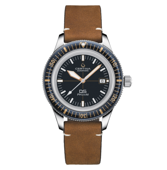 Reloj Certina Aqua DS PH200M C036.407.16.040.00 Powermatic 80 de acero para hombre