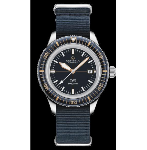 Reloj Certina Aqua DS PH200M C036.407.18.040.00 Powermatic 80 de acero para hombre
