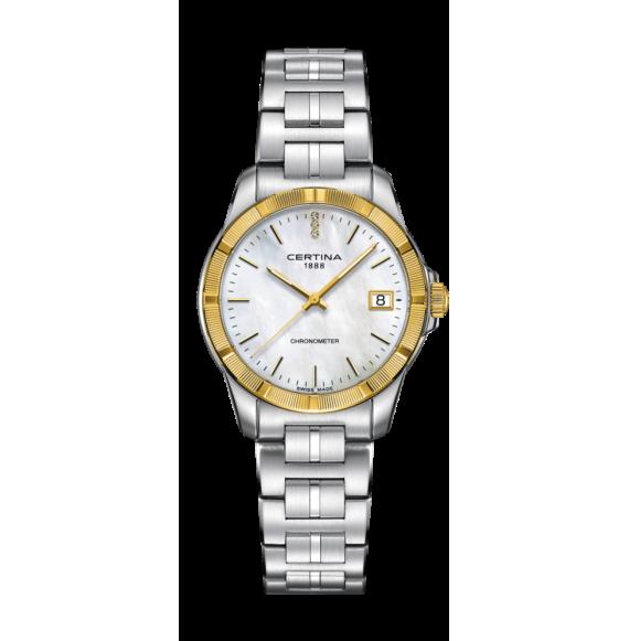 Reloj Certina Urban DS Jubile C902.251.41.016.00 Cuarzo con Bisel Oro 18 K para mujer
