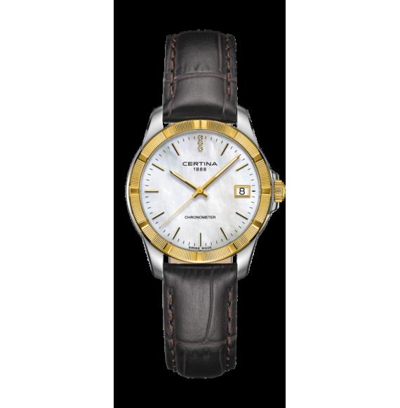 Reloj Certina Urban DS Jubile C902.251.46.016.00 Cuarzo con Bisel Oro 18 K para mujer