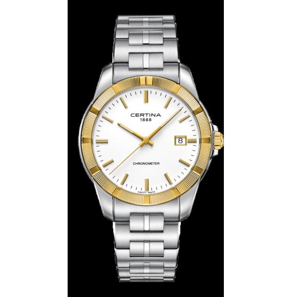 Reloj Certina Urban DS Jubile C902.451.41.011.00 Cuarzo con Bisel Oro 18 K para hombre