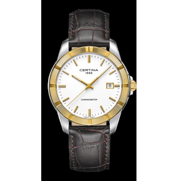 Reloj Certina Urban DS Jubile C902.451.46.011.00 Cuarzo con Bisel Oro 18 K para caballero