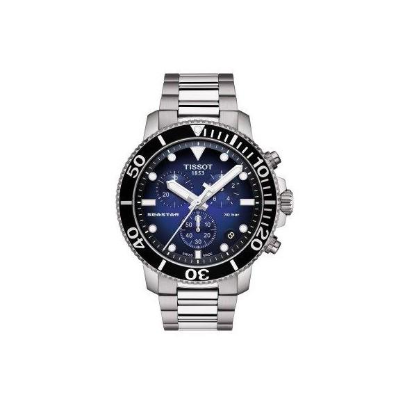 Reloj Tissot Seastar 1000 Chronograph T120.417.11.041.01 cuarzo para hombre