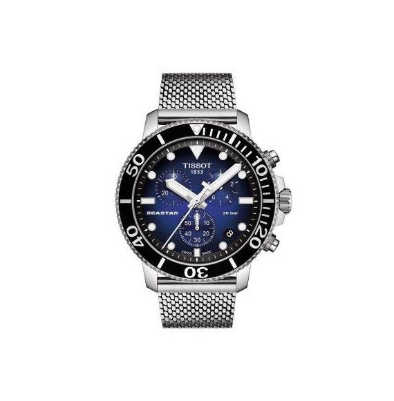 Reloj Tissot T-Sport Seastar 1000 Chronograph T120.417.11.041.02 cuarzo para hombre