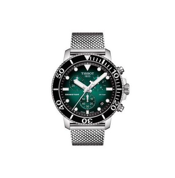 Reloj Tissot T-Sport Seastar 1000 Chronograph T120.417.11.091.00 cuarzo para hombre