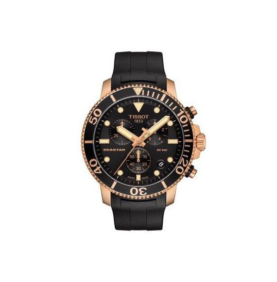 Reloj Tissot T-Sport Seastar 1000 Chronograph T120.417.37.051.00 cuarzo para hombre
