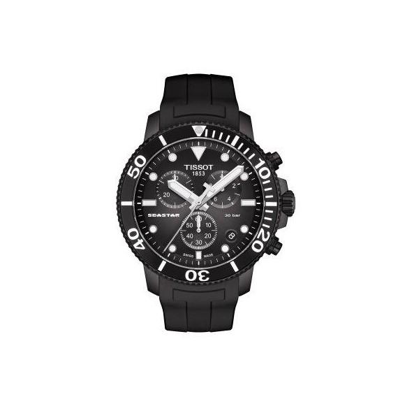 Reloj Tissot T-Sport Seastar 1000 Chronograph T120.417.37.051.02 cuarzo para hombre