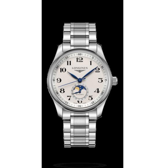 Reloj Longines Master Collection  L2.909.4.78.6 automático con fases lunares para hombre