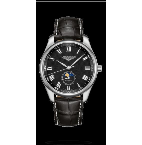 Reloj Longines Master Collection L2.919.4.51.7 automático con fases lunares para hombre