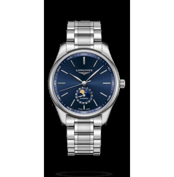 Reloj Longines Master Collection L2.919.4.92.6 automático con fases lunares  para hombre