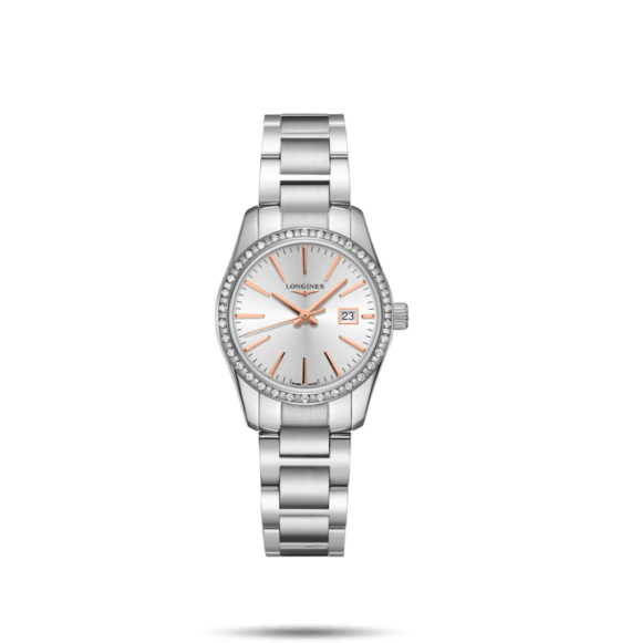 Reloj Longines Conquest Classic L2.286.0.72.6 de cuarzo para mujer