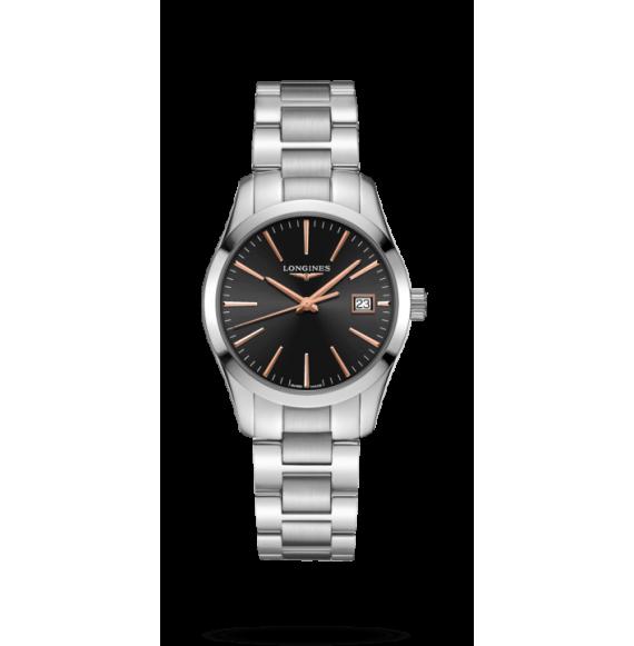 Reloj Longines Conquest Classic L2.386.4.52.6 cuarzo para mujer
