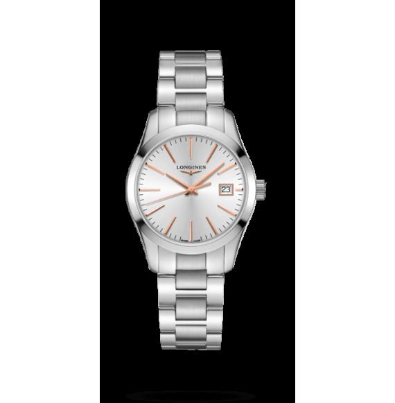 Reloj Longines Conquest Classic L2.386.4.72.6 cuarzo para mujer