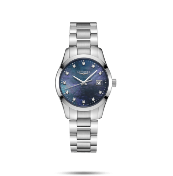 Reloj Longines Conquest Classic L2.386.4.88.6 cuarzo para mujer