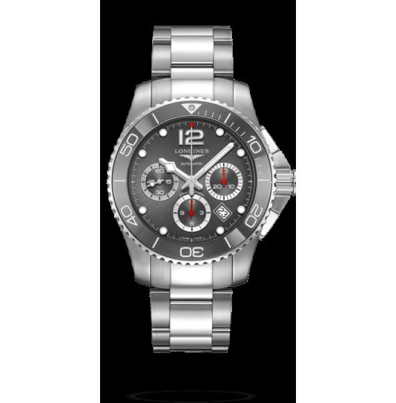 Reloj Longines Hydroconquest L38834766 automático de acero para Hombre