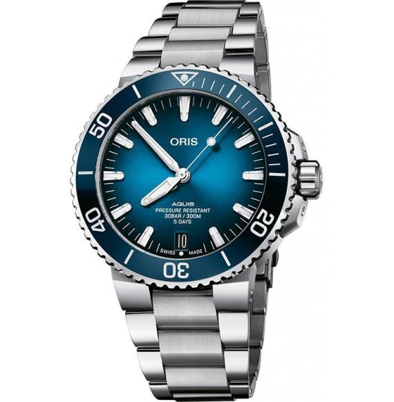 Reloj Oris Aquis Date Calibre 400 01 400 7763 4135-07 8 24 09-PEB automático para hombre