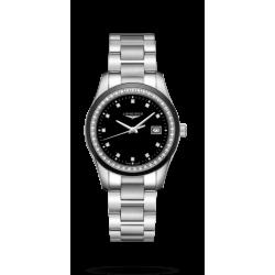 Reloj Longines Conquest Classic cuarzo con diamantes para mujer