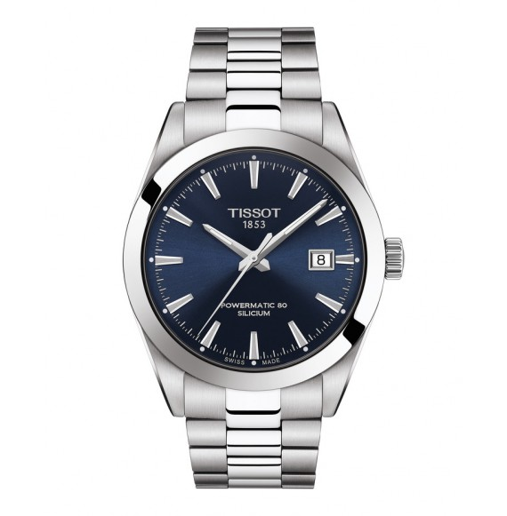 Reloj Tissot Gentleman Powermatic 80 Silicium T127.407.11.041.00 para hombre