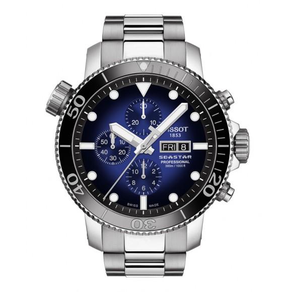Reloj Tissot T-Sport Seastar 1000 Professional Limited Edition T120.614.11.041.00 automático para hombre
