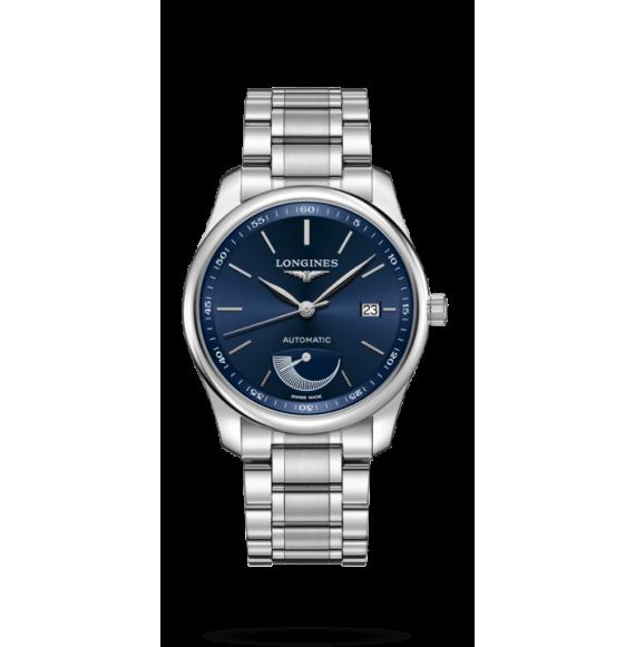 Reloj Longines Master Collection L2.908.4.92.6  automático de acero para hombre
