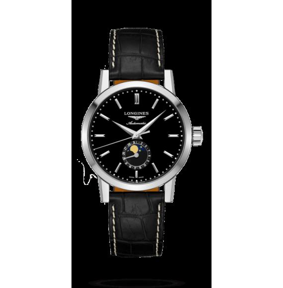 Reloj Longines 1832 L4.826.4.52.0 automático con fases lunares para hombre