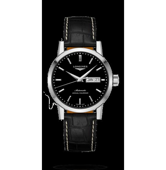 Reloj Longines 1832  L4.827.4.52.0  automático de acero para hombre