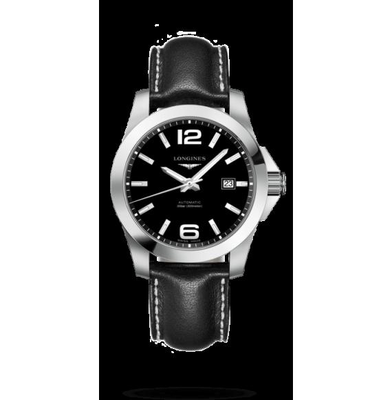 Reloj Longines Conquest L3.777.4.58.3 automático de acero para hombre