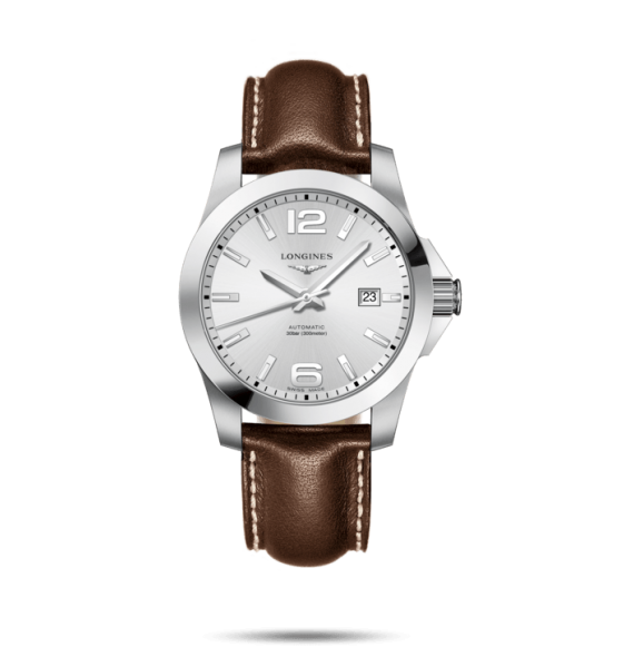 Reloj Longines Conquest L3.777.4.76.5 automático de acero para hombre