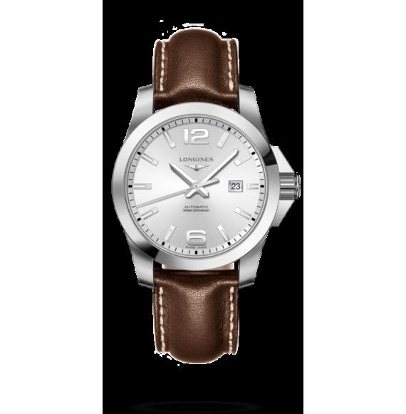 Reloj Longines Conquest L3.778.4.76.5 automático de acero para hombre