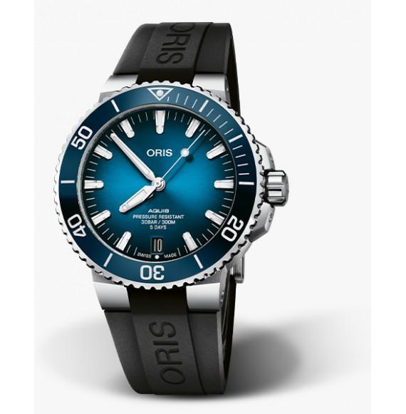 Reloj Oris Aquis Date Calibre 400 01 400 7763 4135-07 4 24 74EB Autoautomático de acero para hombre
