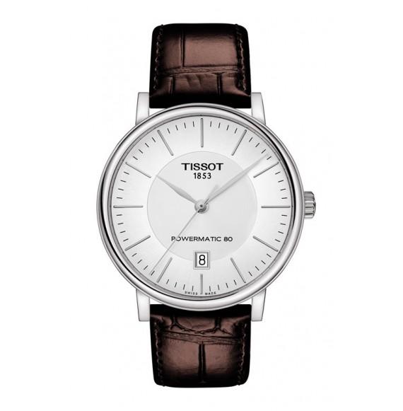 Reloj Tissot T-Classic Carson Premium Powermatic 80  T122.407.16.031.00 Automático para hombre