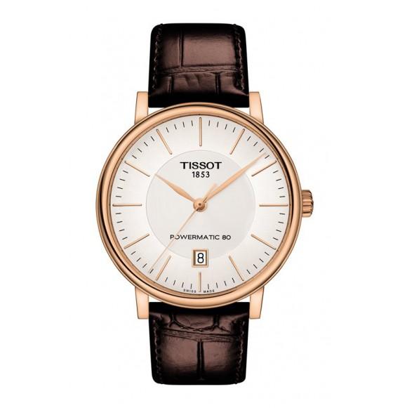 Reloj Tissot T-Classic Carson Premium Powermatic 80  T122.407.36.031.00 Automático para hombre