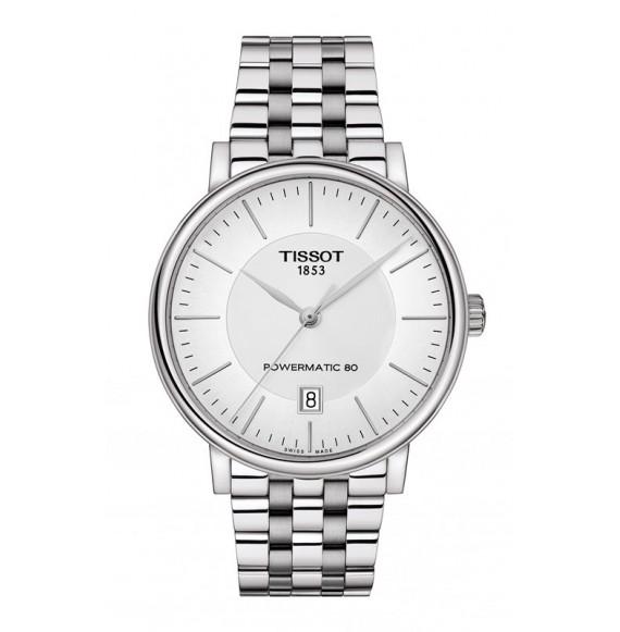 Reloj Tissot Carson Premium Powermatic 80 T122.407.11.031.00 Automático para hombre