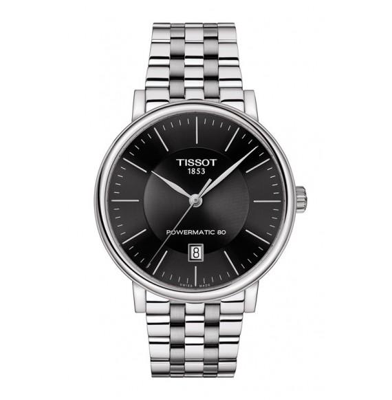 Reloj Tissot Carson Premium Powermatic 80 T122.407.11.051.00 Automático para hombre
