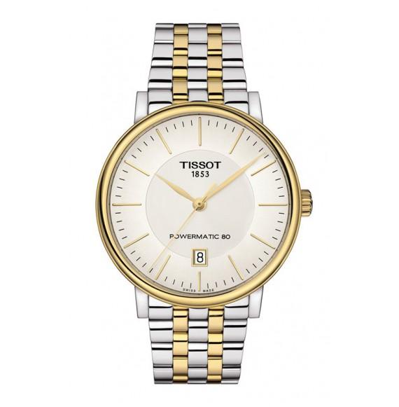 Reloj Tissot Carson Premium Powermatic 80 T122.407.22.031.00 Automático para hombre